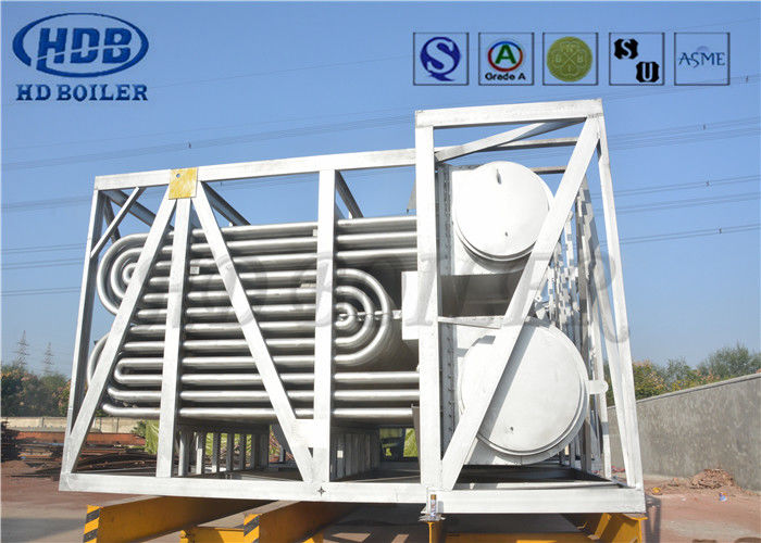 Natural Gas Heater Tube Bundle For Steel Mill Boiler Pressure Parts with Expansion Joint ASME Standard