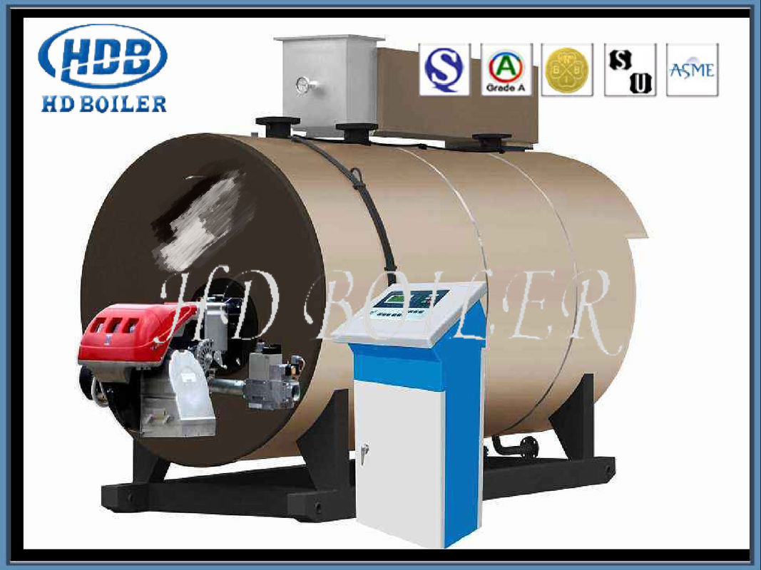 ASME Corner Type Tube Steam Boiler Nature Circulation Pellet Fuel