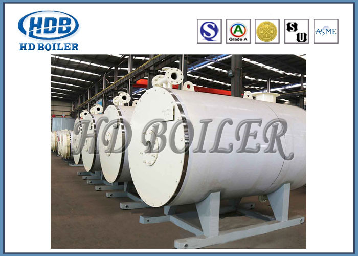 Horizontal Oil Fired Industrial Steam Generators , Atmospheric Pressure Hot Water Boiler