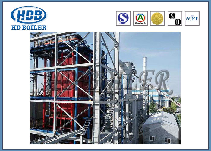 High Thermal Efficiency Steam Hot Water Boiler Corner Tube Fully Enclosed Structure