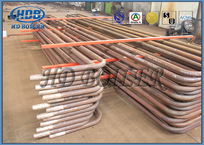 Carbon Steel Superheater And Reheater , Energy Saving Heat Exchanger