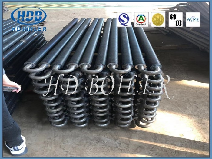 Steel Tube Boiler Economizer for Thermal Power Station Boilers with Natural Circulation