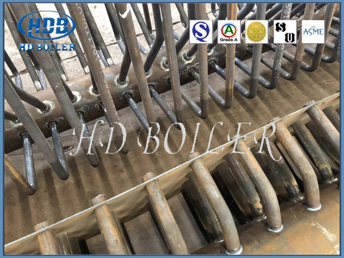 Customized Boiler Manifold Headers Energy Saving Industrial Spare Boiler Parts