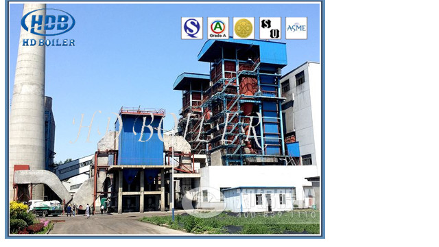 Heat Exchange Circulating Fluidized Bed CFB Boiler High Efficient Working