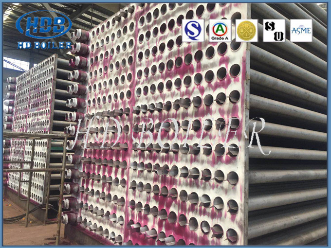 Customized Stainless Steel Painted Tubular Type Air Preheater With High Efficiency