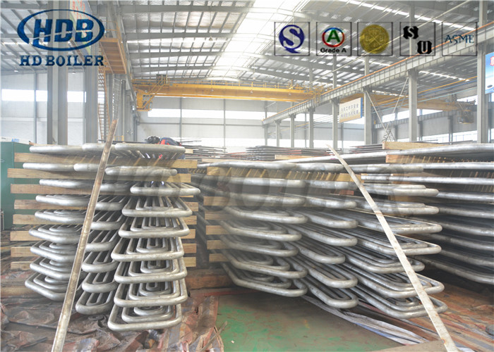Superheater Boiler Replacement Parts Stainless Steel Anti Corrossion To Power Industrial