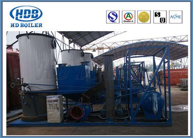 Vertical Thermal Oil Boiler System Coal Fired , Thermo Steam Boiler Environmental Friendly