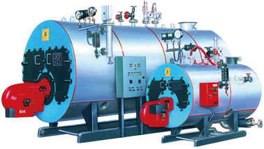 Corner Tube ASME Steam Hot Water Boiler With HDB Design