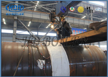 Carbon Steel Power Plant CFB Boiler Steam Drum / High Pressure High Temperature Drum