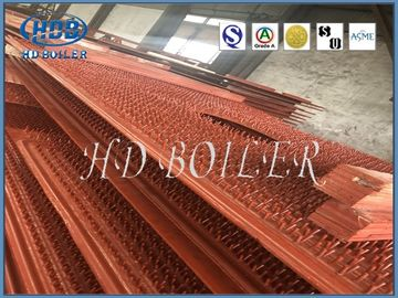 China Energy Saving Carbon Steel Boiler Water Wall Tubes For Power Plant In Orange Color factory