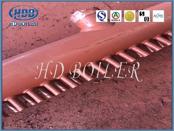 Steel Manifold Headers for Steam Boilers with Welded Ends for Power Plant and Industrial Application