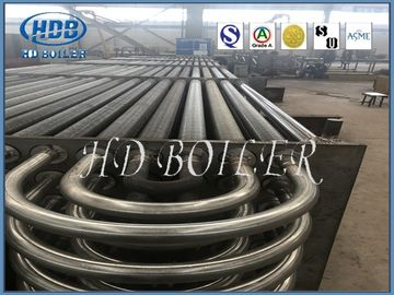 China Sprial Double H Finned Tube Heat Exchanger Energy Saving For Boiler Parts factory