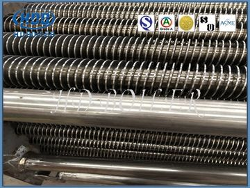 Customized Boiler Fin Tube For Power Station , Superheater And Reheater