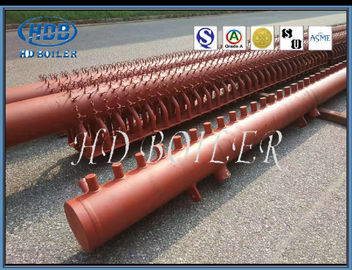 Energy Saving Boiler Manifold Headers , Industrial Boiler Parts Argon Arc Welding