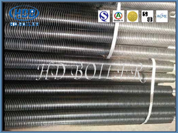 Longitudinal Welding Tube Fin Heat Exchanger Heat Transfer Carbon Steel