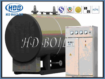 Thermal Efficiency Steam Hot Water Boiler Corner Tube Fully Enclosed Structure