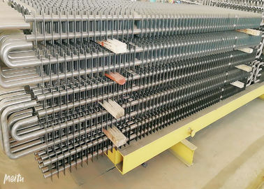 China Ss Boiler Fin Tube Spiral , Fin And Tube Heat Exchanger Energy Saving factory