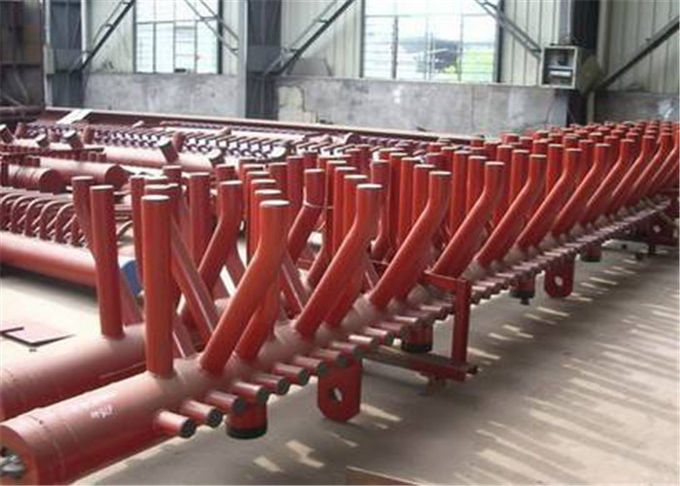 Industrial Steam Boiler Manifold Headers With Longitudinal