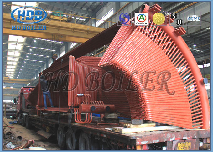 Horizontal Cyclone Separators Carbon Steel Dust Collection Circulating Fluidized Bed Technology