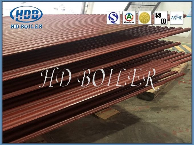 Customerized Carbon Water Wall Panels For Boilers , Water Tube Boiler Water Wall Tubes
