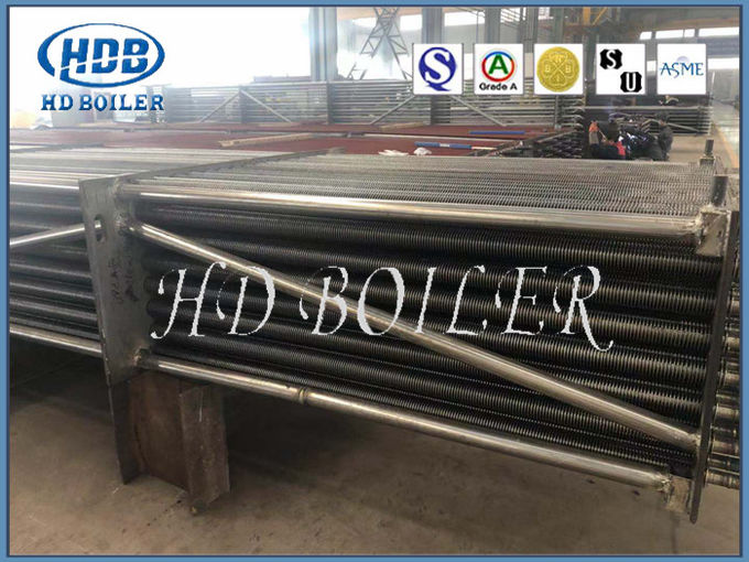 Steel Boiler Economizer with Manifold Header For Puverized Coal Boiler With Compound Circulation
