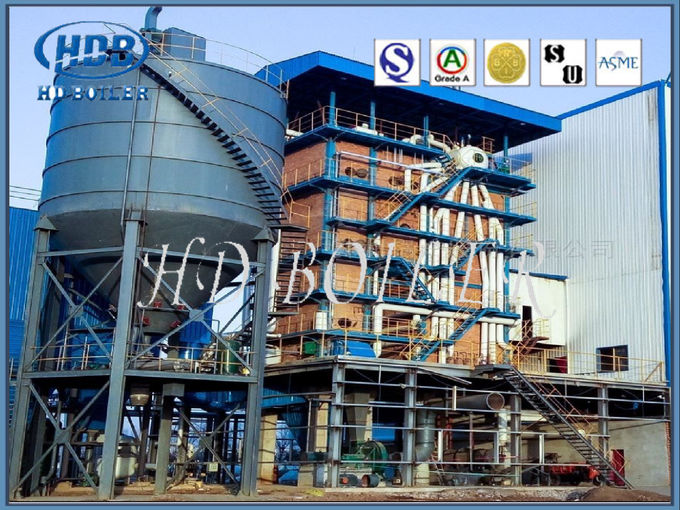 130T / H Coal Fired Power Plant Boiler With Natural Circulation , High Efficiency