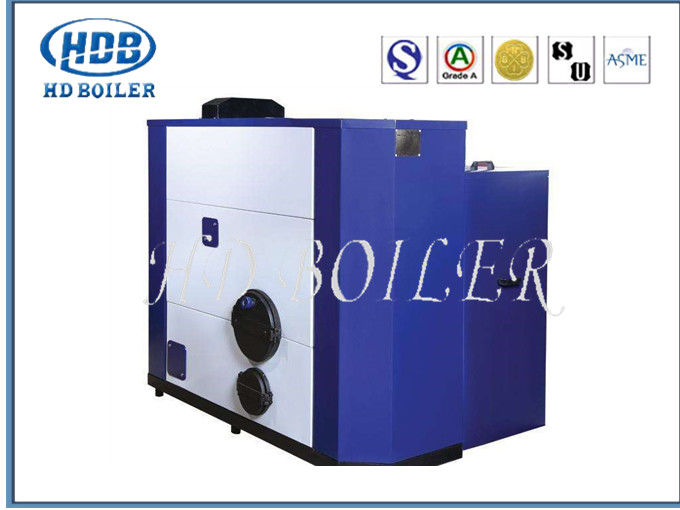 Painted Fire Tube Automatic Biomass Fuel Boiler For Industry With High Pressure