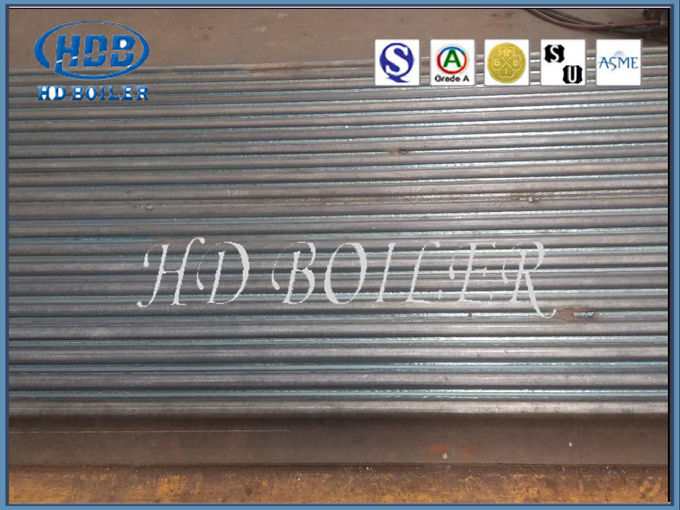 Fossil Fuel Power Plant Water Wall Panels Heat Exchanger / Boiler Parts