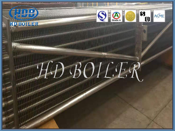 Heat Exchanger Carbon Steel Finned Tubes For Power Station Plant , ISO Certificate